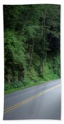 Smoky Mountain Tunnel Beach Towel