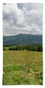Smoky Mountains Cades Cove 1 Beach Towel