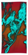 Smoky Shadows Beach Towel
