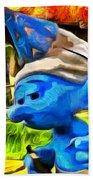 Smurfette And Friends - Da Beach Towel