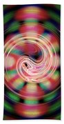 Snake Pit Abstract Beach Towel