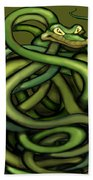 Snakes Beach Towel