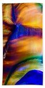 Snakeskin Goddess Beach Towel by Omaste Witkowski