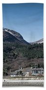 Snow Capped Mourne Mountains Beach Towel