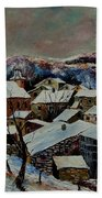 Snow In Laforet 78 Beach Towel