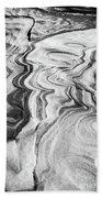 Snow Shapes Viii Beach Towel