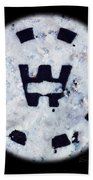 Snow Spirit Beach Towel