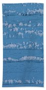 Snow Wall Art Beach Towel