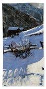 Snowballers Beach Towel