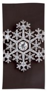 snowflake II Beach Towel