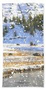 Snowy River Beach Towel