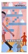 Soap Scene #16 Miracle Maids Beach Towel