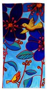 Soaring And Blooming Beach Towel