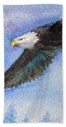 Soaring Eagle Beach Towel