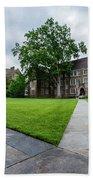 Sociology-psychology Building At Duke University Beach Towel