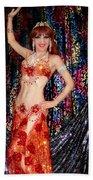 Sofia Metal Queen - Belly Dancer Model At Ameynra Beach Towel