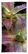 Soft Lilies 3637 Idp_2 Beach Towel