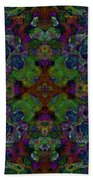 Soft Patterned Dreams Beach Towel