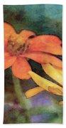 Soft Petals 3058 Idp_2 Beach Towel