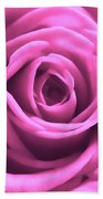 Soft Touch Pink Rose Beach Towel