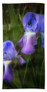 Softly Growing In The Garden Beach Towel