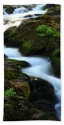 Sol Duc Falls 2 Beach Towel