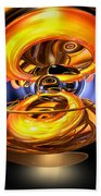 Solar Flare Abstract Beach Towel