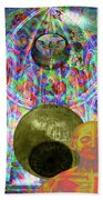 Solar Plexus Spirit Beach Towel