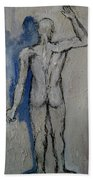 Solitude And Existence Beach Towel