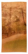 Sometimes - Holmdel Park Beach Towel