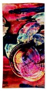 Song Of Space Beach Towel