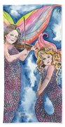 Song Of The Sirens Beach Towel