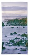 Sonoma Coast Shoreline Beach Towel