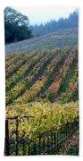 Sonoma County Vineyards Near Healdsburg Beach Towel