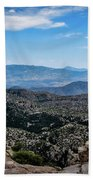 Sonoran Cliff Lookout Beach Towel