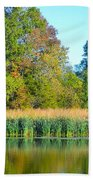 Soothing Reflections Beach Towel