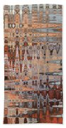 Sophisticated - Abstract Art Beach Towel