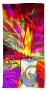 Sorcerer's Candle Beach Towel