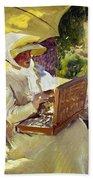 Sorolla: Painter, 1907 Beach Sheet
