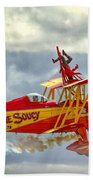 Soucy In Flight Beach Towel