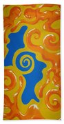 Soul Figures 5 Beach Towel