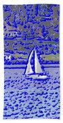 Sound Sailin 3 Beach Towel