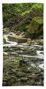 Sounds Of A Mountain Stream Beach Towel