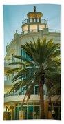 South Beach Vibes Beach Towel