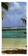 South Caye Belize Beach Towel