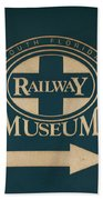 South Florida Railway Museum Beach Towel