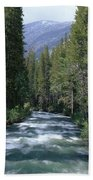 South Fork San Joaquin River - Kings Canyon National Park Beach Towel