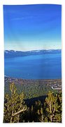 South Lake Tahoe Beach Towel