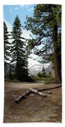 South Lake Tahoe Mountain Trail Beach Towel