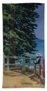 South Lake Tahoe Summer Beach Towel